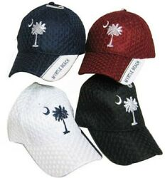 South Carolina SC State Myrtle Beach Mesh Red Embroidered Cap Hat 721AM TOPW $6.88