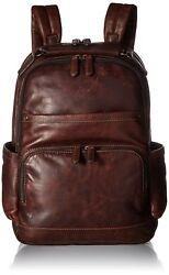 FRYE Men's Logan Backpack Dark Brown One Size