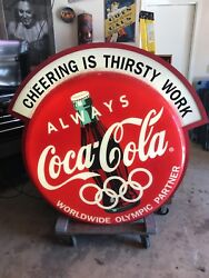Coca Cola Olympic Sign