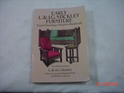 Early L. And J.g. Stickley Furniture By Donald Davidoff