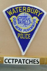 Waterbury, Connecticut Police Triangle Shoulder Patch