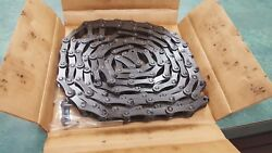 C2040 Riveted Roller Chain 10 Ft New Usa Atlas W/free Connector Link