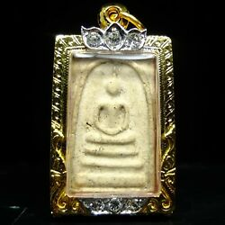 Rare Old Phra Somdej Toh Wat Rakhang .champion Condition,real Micron Case