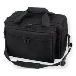 Bulldog Cases Extra-Large Deluxe Black Range Bag with Pistol Rug BD905