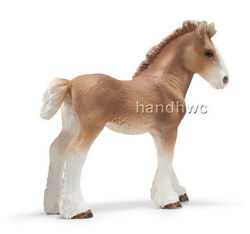 Schleich 13671 Clydesdale Foal Model Draft Horse Toy Figurine - Nip
