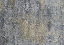 12and039x15and039 Loloi Rug Patina Polypropylene   Polyester Ocean Gold Power-loomed Trans