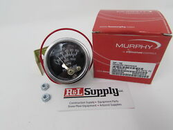 Murphy 100 Psi Oil Pressure Gauge 20p-100 Construction Equipment And Wood Chippers
