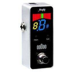 Chromatic Tuner Pedal Chromatic For Electric Guitar & Bass HD Color Foot Switch