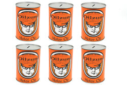 Oilzum Oil Can Coin Bank Set,fits Harley-davidson Motorcycle Models