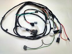 1967 Chevelle El Camino Forward Front Light Wiring Harness Gauges 283 327 396 Ss