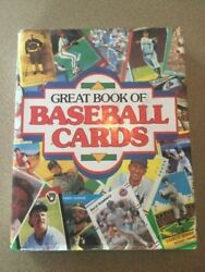 Great Book Of Baseball Cards, New 1989 Publications 452 Page Hardbound Book