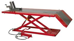 Mini Tractor/quad/motorcycle Lift 680kg Capacity Air/hydraulic - Sealey - Mt680