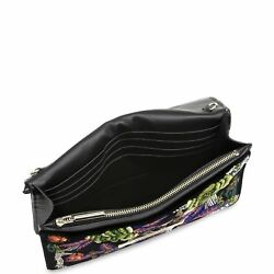 NEW JASON WU WOMENS DIANE FLORAL LEATHER WALLET