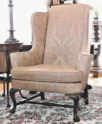 Wingback Arm Chair, Century Furniture Co, Hickory, Nc, James River, 47t, C1960