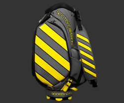2018 Scotty Cameron Caution Stripe Sunshine Yellow Staff Bag Studio Design