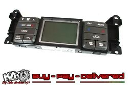 VZ Berlina Single Zone Electronic Heater Climate Controls GREY Touch Pad VY KLR