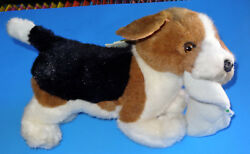 BEAGLE PUP DOG PLUSH STUFFED ANIMAL AVANTI #1029 1985 TAG CLEAN DISPLAYED ONLY