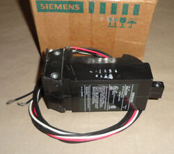 Siemens S09jld62a Mccb Shunt Trip With Auxiliary Switch 48 Vdc Breaker New
