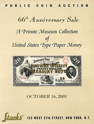 American Us Type Paper Money Bank Note - Stackand039s Auction Catalog Auction Book