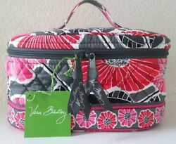 Vera Bradley Home and Away Cosmetic Bag - Cheery Blossoms - New With Tags!