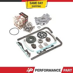 Timing Chain Kit Water Pump Oil Pump For 01-04 Ford Mustang V8 4.6 281cid Vin X