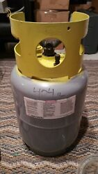 R404A R-404a Refrigerant Recovery Cylinder Approx 10 lb Net Refrigerant