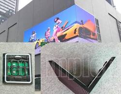 HD control card Wi-Fi P6 mm  2 ft x 16 ft Full color LED Sign IP65