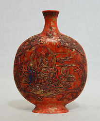 Chinese Hand Carved Red Ink Stick With Mark
