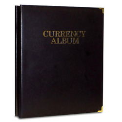 Leatherette Deluxe Banknote Album Small Currency 96 Notes And A Bonus Vietnam Bill