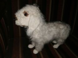 Bedlington Terrier Dog Plush Doll Statue Figurine 10