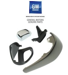 2012-2016 Sonic And Trax Genuine Gm Automatic Shift Knob Kit Silver 42423234 New