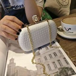 New Fashion White Red Color Small Mini Shoulder Crossbody Bag For Women Girl