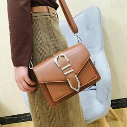 New Fashion Red Brown Color Small Size Crossbody Shoulder Bag for Woman Girl