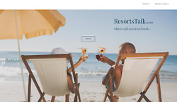 * * Travel Resorts Vacation Website BUSINESS For Sale * *