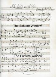 Music Manuscript - Willoughby Hunter Weiss The Violet And The Rose Signed.