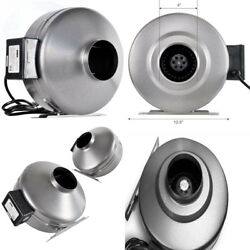 iPower 4 Inch 190 CFM Inline Duct Ventilation Fan HVAC Exhaust Blower for...