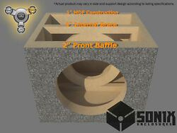 Stage 3 - Sealed Subwoofer Mdf Enclosure For Re Audio Xxx V2 15 Sub Box