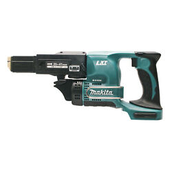 Makita Lxt Cordless Autofeed Collated Screw Gun Dfr450zx 18v 4000rpm, Skin Only