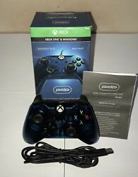 Wired Xbox One Controller - Pdp Licensed Midnight Blue Edition Used 25 Off