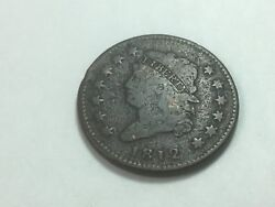 1812 Classic Head Large Cent, Small Date, S-290