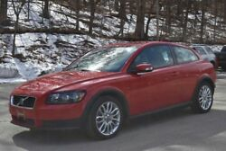 C30 -- 2009 Volvo C30  39800 Miles Red Coupe 5 Automatic