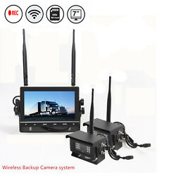 Digital Wireless Backup Camera System For Agriculture Farm Tractors Rear View