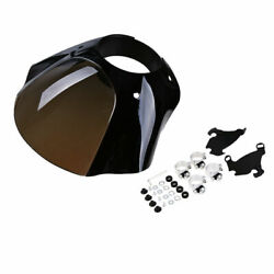 1x Front Headlight Fairing Cowl Mount Fit Harley Fxd/fxdc/fxdl/fxdb/fxd35 Xl -us