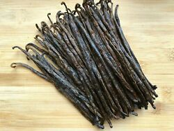 Madagascar Bourbon Vanilla Beans Grade B - Great For Extraction And Baking