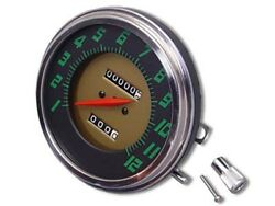 Speedometer With Green Numbers 21 Ratio For Harley Panhead Fl Models 1948-1961