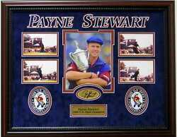 Payne Stewart 1999 Us Open Champion Deluxe Framed Photo Picture