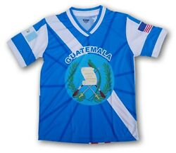 Guatemala Usa Proud Men's Loose Fit Soccer Jersey 100 Polyester See Description