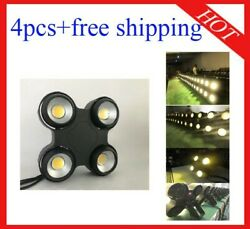 400w Warm White Waterproof Led Blinder Dj Party Stage Light 4pcs Free Shipping