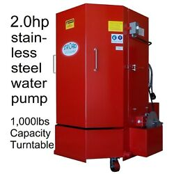 Parts Washer Cabinet Stw-500 5yrs Wty 1,000lb Cap. 2hp Stainless Steel Pump