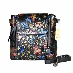 Yitrust Leather CrossBody Messenger Bag Shoulder Bags Mini Backpack with Hand